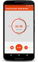Screenshot of Sound Meter: Simple dB Meter