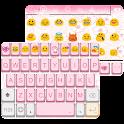 Retro Pink Emoji Keyboard Skin icon