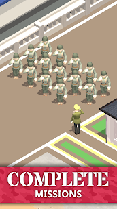 Idle Army Base (MOD, Free Shopping) APK for Android 5