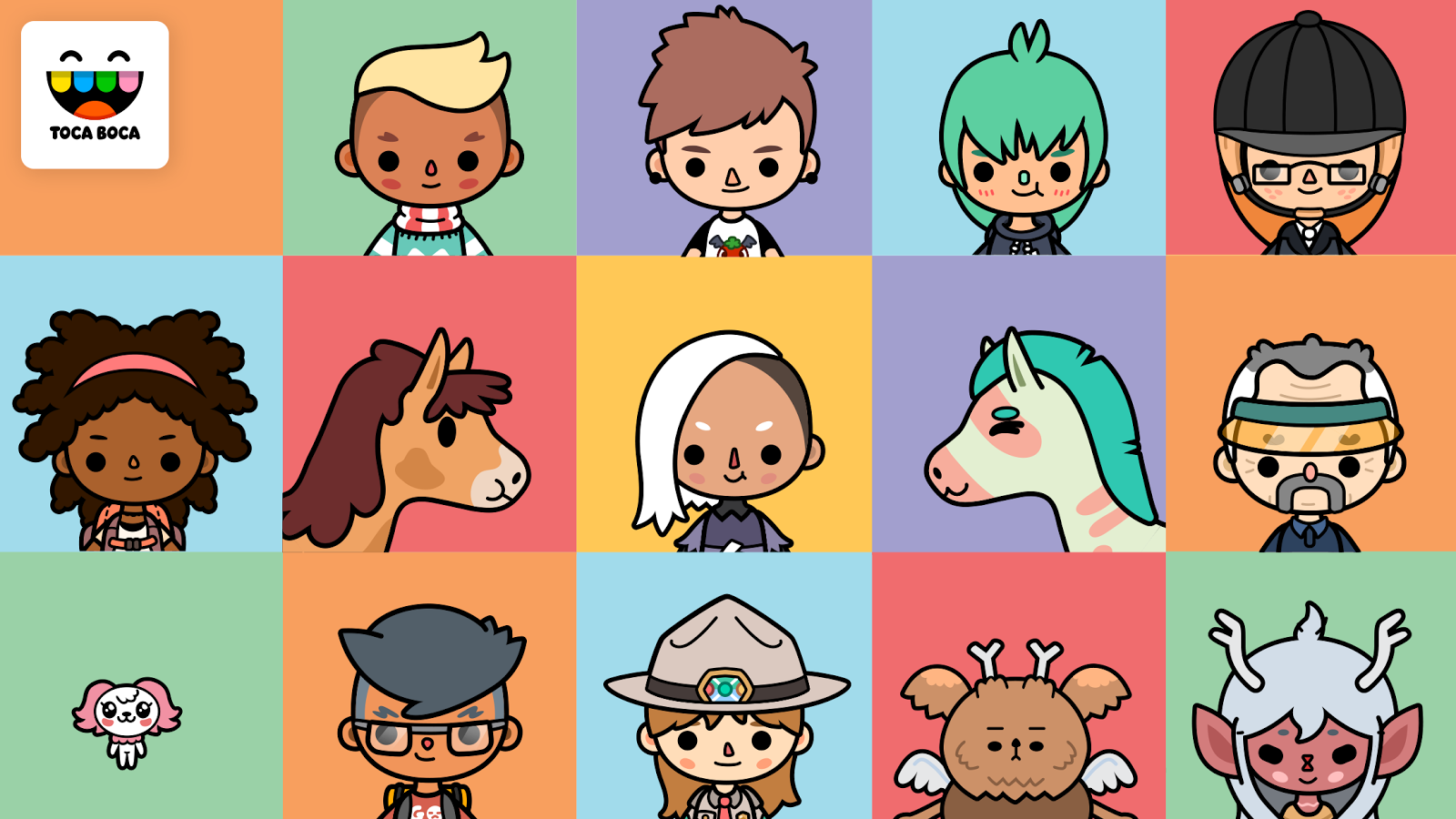 Toca Life: Stable- screenshot