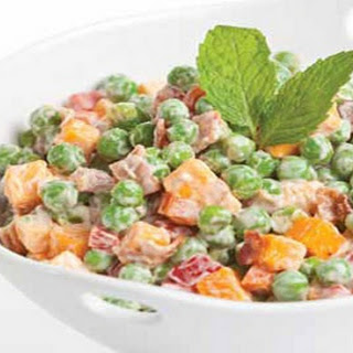 Cheddar Pea Salad