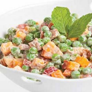 Cheddar Pea Salad.