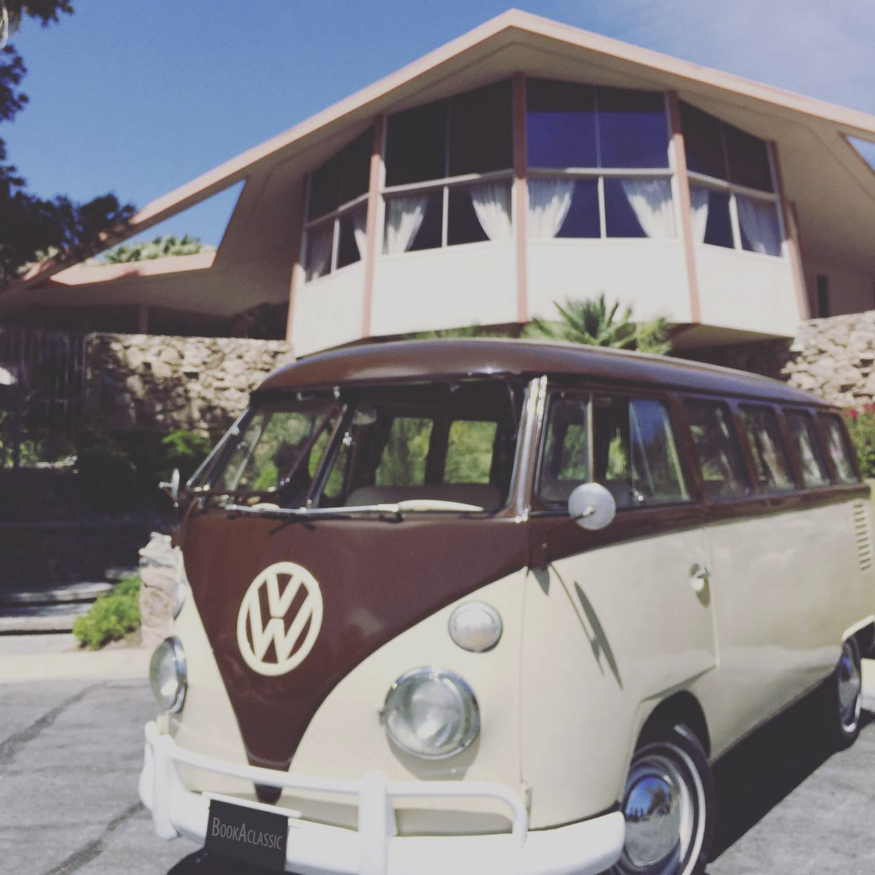 Volkswagen Bus Hire Palm Springs