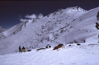 Photo: Kirgisien, Pik Lenin 2002, Lager 6000 m Höhe