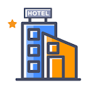 Hotel Metropole, Lal Darwaja, Ahmedabad logo