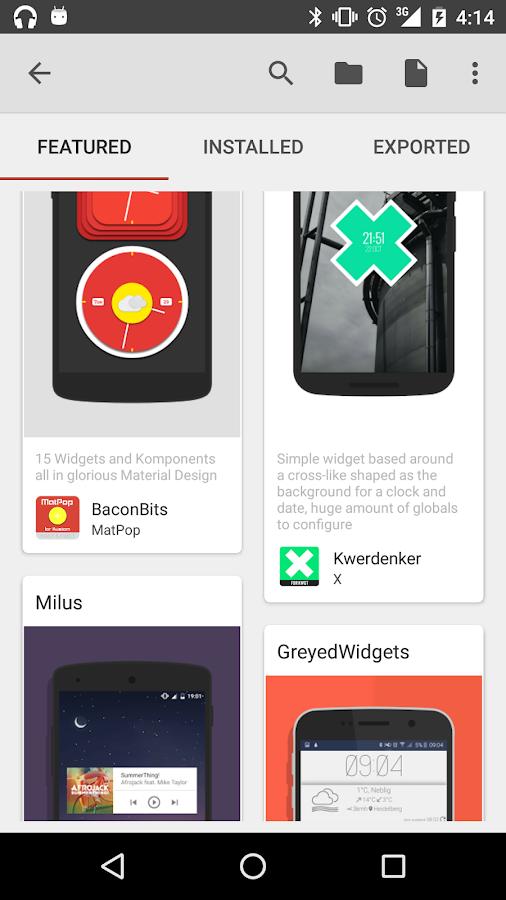 KWGT Kustom Widget Pro Key - Android Apps on Google Play