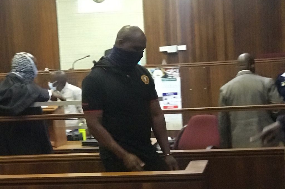 Fidelity guard accused of stealing R4.5m denied bail with the cash still missing