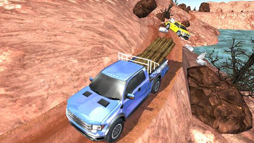 Off - Road Pickup Truck Simulator fond d'écran 2