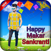 kites Photo Editor - Makar Sankranti Photo  Frame