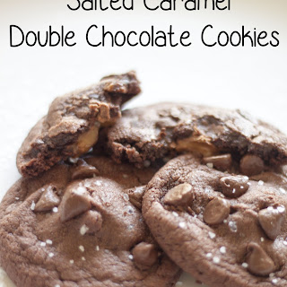Salted Caramel Double Chocolate Cookies Recipe