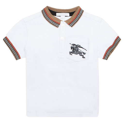 Primary image of Burberry Cotton Piqué Polo