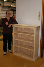 Photo: Alan's first project - from 'Woodworking Masterclass'