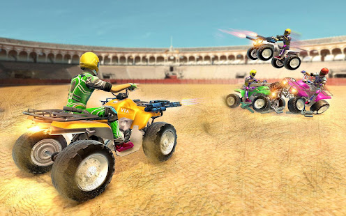 Download Monster ATV Bike Demolition Derby For PC Windows and Mac apk screenshot 1