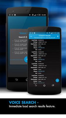 TQL Carrier Dashboard - screenshot