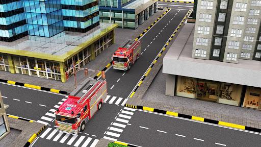 City Firefighter Truck conduite de sauvetage  captures d'u00e9cran 2
