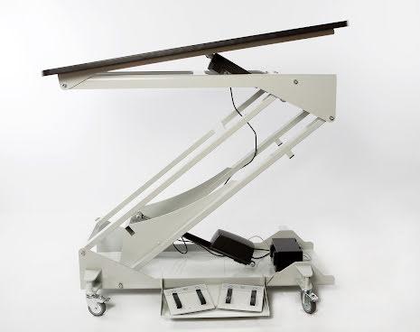 Undersökningsbord elektriskt med tilt 60x120cm