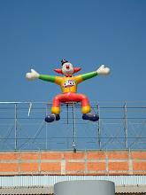 Photo: strange clown