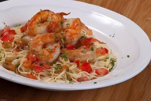 Broiled Shrimp W/fresh Tomatoes Recipe