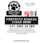 Uncle Bear's Perfecto Rosado Cigar Beer