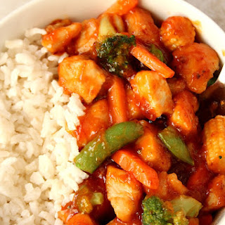 Quick Honey Chipotle Chicken Rice Bowls