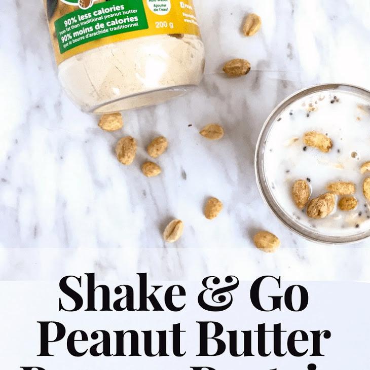 Shake & Go Peanut Butter Banana Protein Overnight Oats