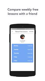 FreeHour - Shared Timetable- screenshot thumbnail