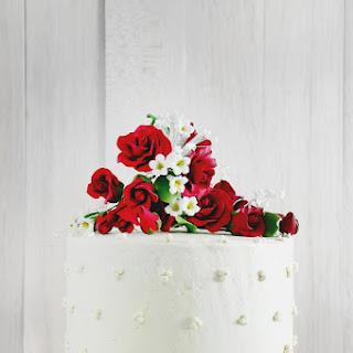 Magnolia��s Red Velvet Cake with Whipped Vanilla Frosting.