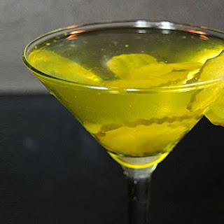 Pickle Martini.