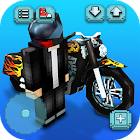 Motorcycle Racing Craft: Juegos de motos en 3D icon