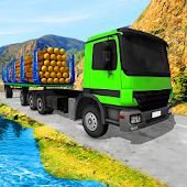 Mountain Wood Cargo Trucker 3D : Truck Games 2018