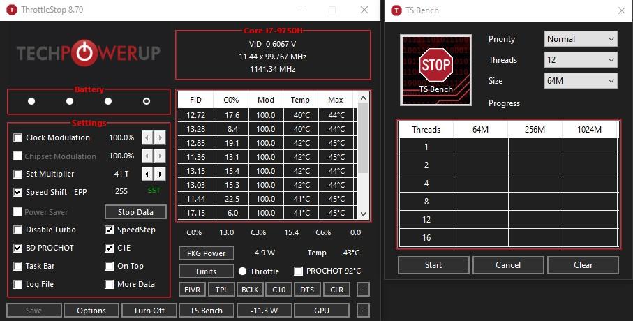 Undervolting guide using ThrottleStop