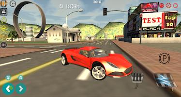 Screenshot of Real Turbo GT Car Driver 3D