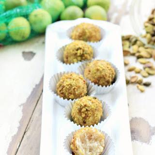 Key Lime Pistachio Truffles