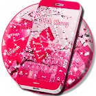 Cerise rose pour GO Keyboard icon