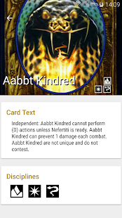VampiDroid - VTES Cards - BETA - náhled