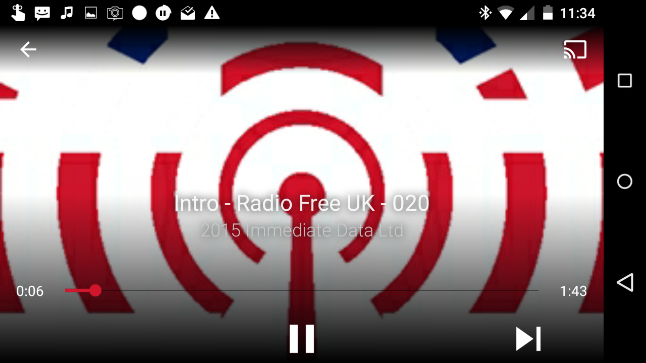 Radio Free UK- screenshot