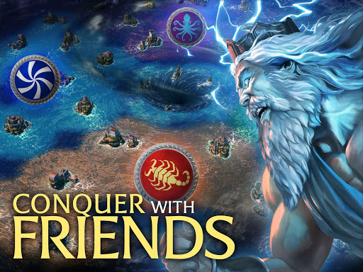Olympus Rising: Tower Defense and Greek Gods apkpoly screenshots 10