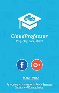 CloudProfessor - náhled