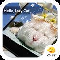 Hello Lazy Cat Eva Keyboard icon