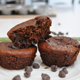 SCHOOL SAFE FLOURLESS CHOCOLATE ZUCCHINI BLENDER MUFFINS Recipe