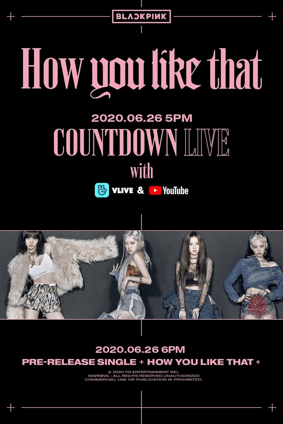 blackpink countdown live