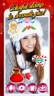 Christmas Photo Stickers - Merry Photo Editor - náhled