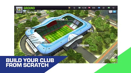 Top Eleven 2019 -  Be a soccer manager APK screenshot thumbnail 1