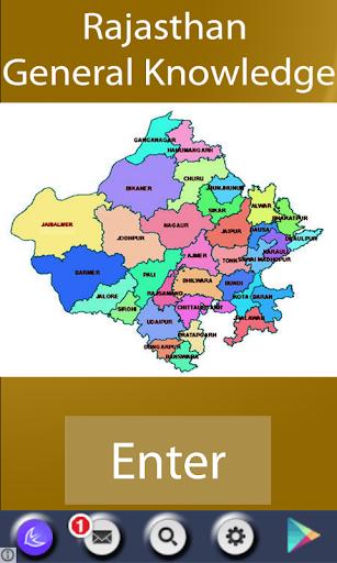 Rajasthan GK - Hindi