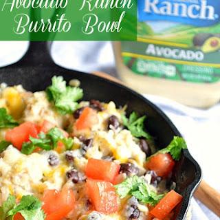 Avocado Ranch Burrito Bowls