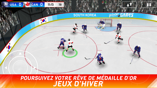 Code Triche Hockey Nations 18  APK MOD (Astuce) screenshots 1