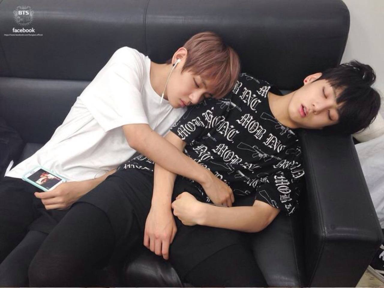 BTS V Sleeping Habit - 02
