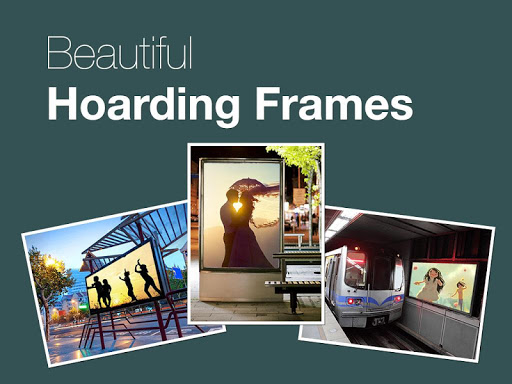 Hoarding Photo Frames 2015