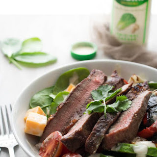 Low Carb Steak Fajita Caesar Salad Recipe