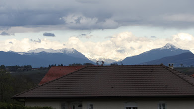 Photo: The Alps (seen fro my new flat)